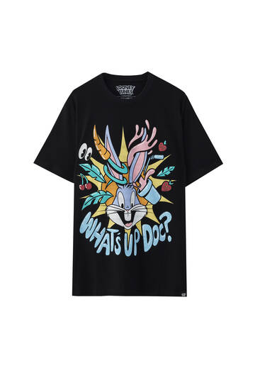 T-shirt Bugs Bunny « What's up doc? »