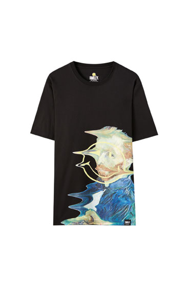 Camiseta Smiley van Gogh