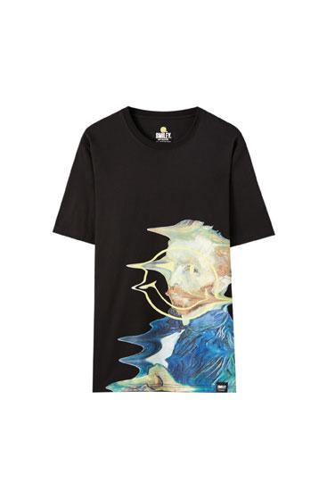 Van Gogh Smiley T-shirt