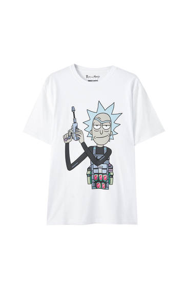 T-shirt Rick et Morty Sánchez