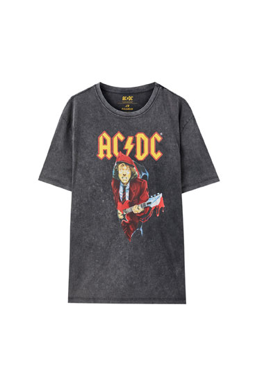 Black AC/DC T-shirt