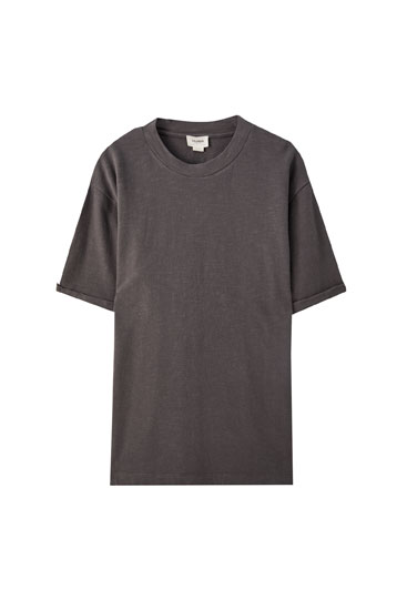 Coloured oversized T-shirt