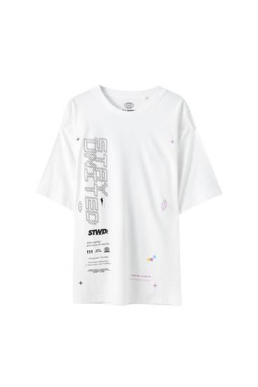 Bílé tričko se Sochou svobody