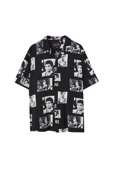 Black Scarface shirt