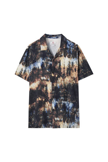 Camisa estampado cosmos