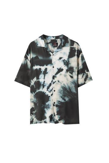 Camisa estampat tie-dye