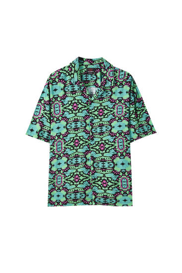 Psychedelic print shirt