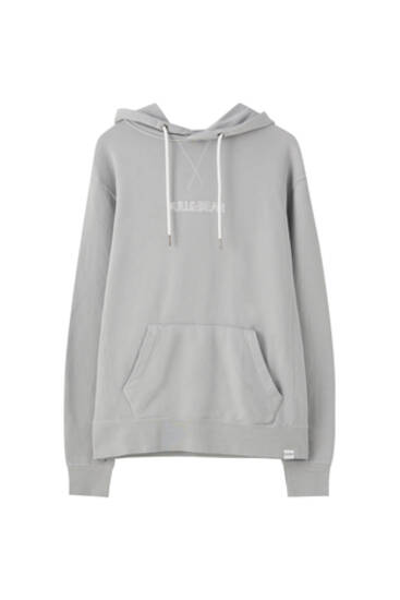 Sweat basique capuche logo