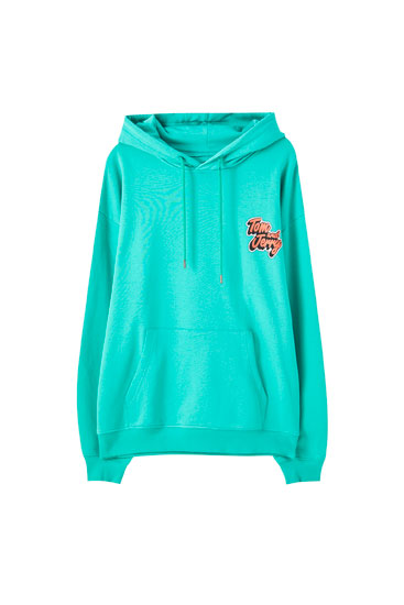 Green Tom & Jerry hoodie