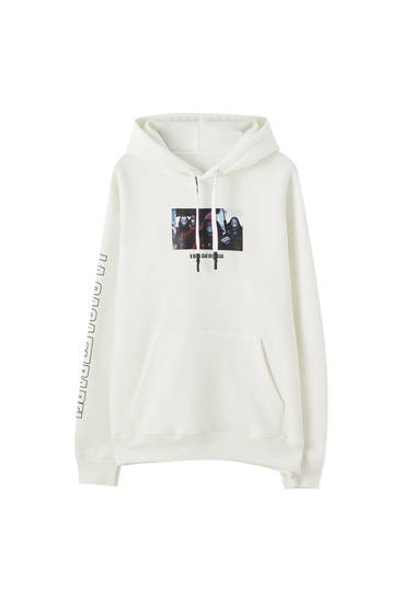 Money Heist x Pull&Bear Bella Ciao sweatshirt