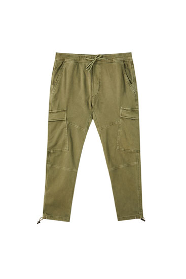 Cargo trousers made of soft fabric