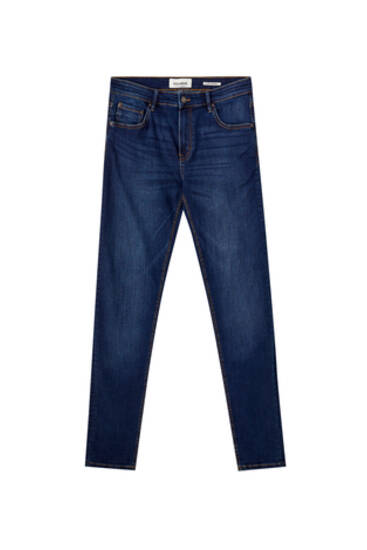 Basic blue super skinny jeans