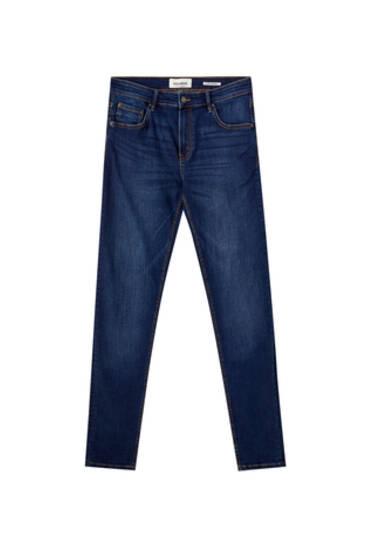 Jeans superskinny básicos azul