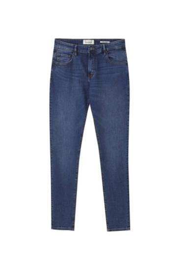 Jeans superskinny azul medio