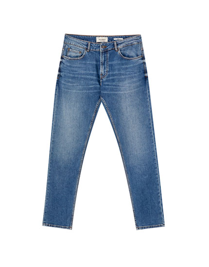 Dark blue slim comfort fit jeans