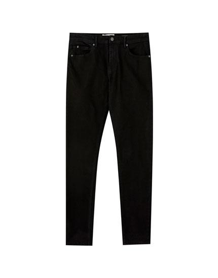 Μαύρο τζιν παντελόνι super skinny