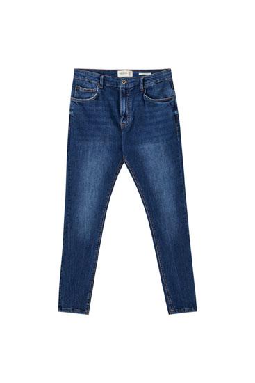 Τζιν παντελόνι carrot fit basic