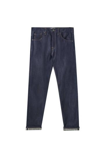 Jeans básicos selvedge