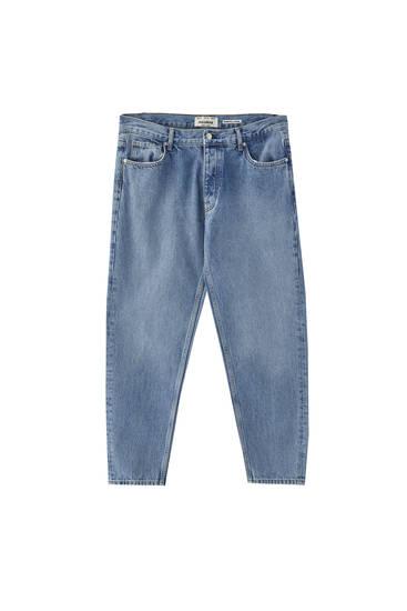 Τζιν παντελόνι basic με πέντε τσέπες