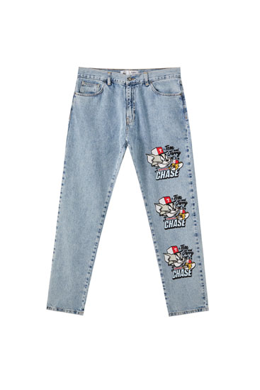 Jeans azules Tom & Jerry