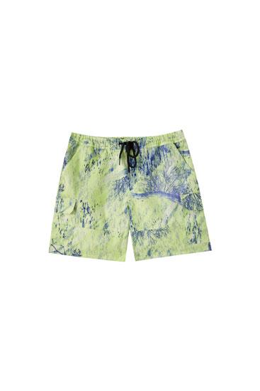 Realtree printed Bermuda shorts