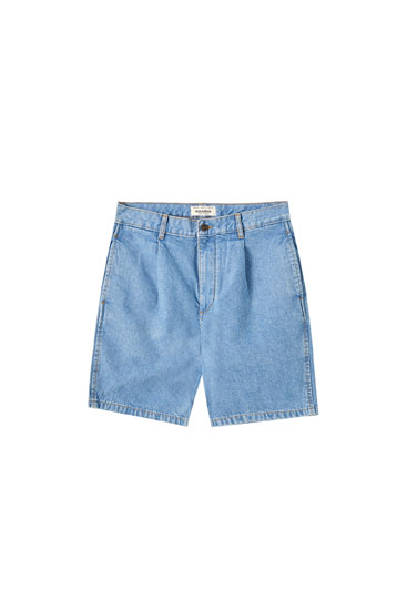 90's denim Bermuda shorts