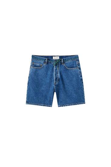 90's denim Bermuda shorts