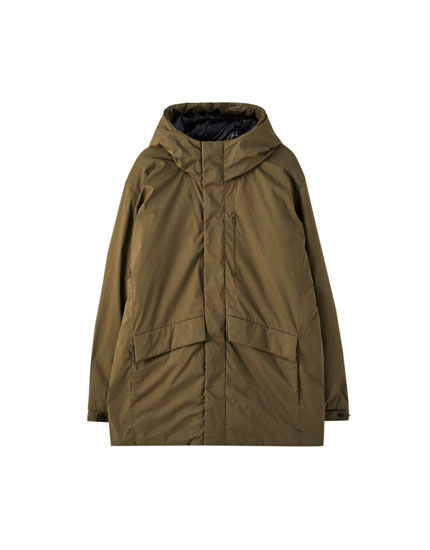 Basic hooded parka