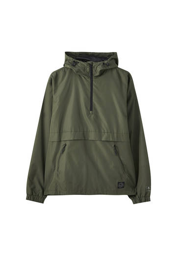 Cazadora canguro packable water repellent