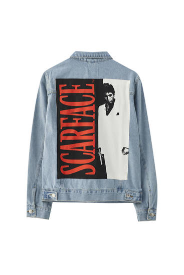 SCARFACE denim jacket