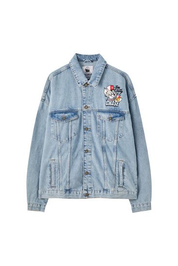 Veste en jean Tom & Jerry