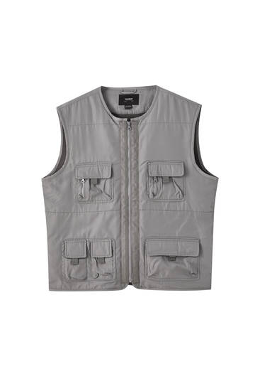 Multi-pocket gilet