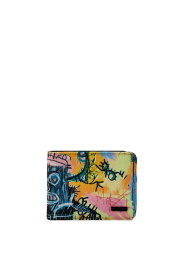 Brieftasche Basquiat