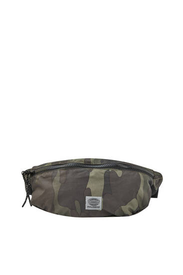 Camouflage ripstop belt bag