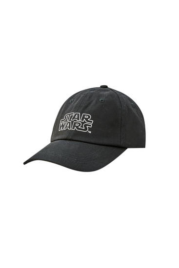 Black cap with Star Wars print