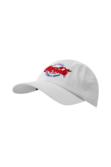 White Coca-Cola cap