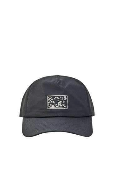 Black Keith Haring cap
