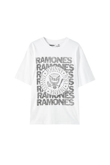 Ramones T-shirt in white