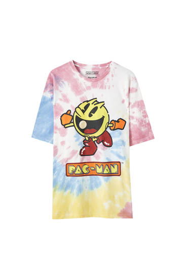 Tie-dye Pacman T-shirt