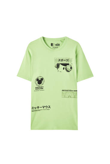 Playera Mickey Mouse verde