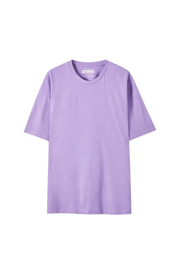 Basic oversize short sleeve shirt