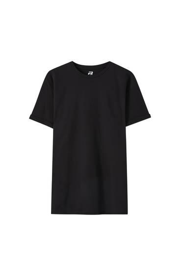 Shirt im Muscle-Fit mit Strukturmuster