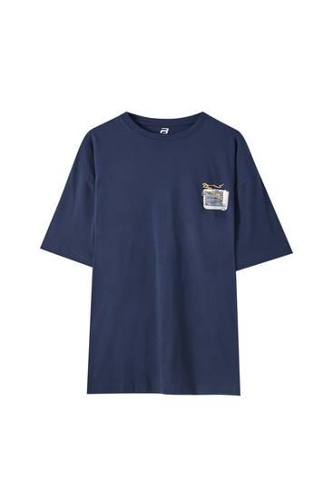 Camiseta oversize Summer Pack