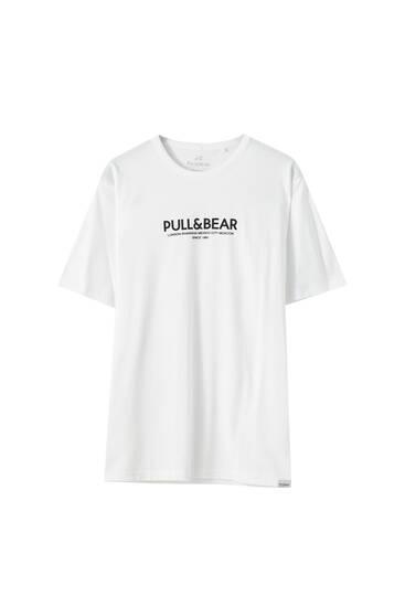 Tričko skontrastním logem P&B