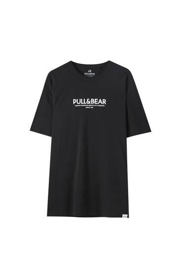 Contrast P&B logo T-shirt