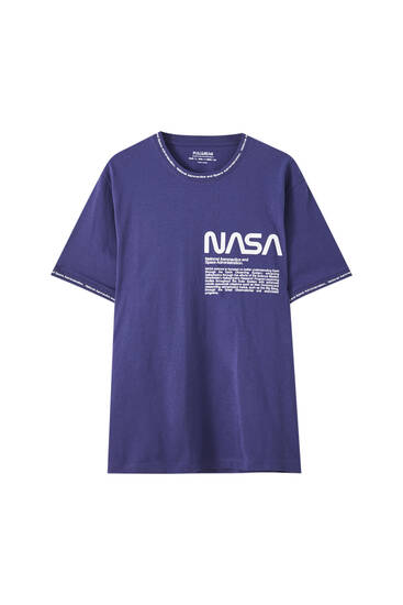 Playera NASA detalle rib