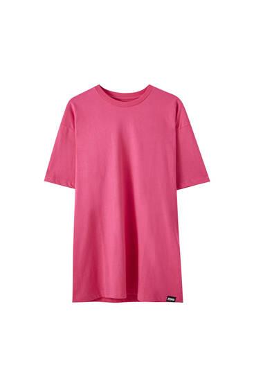 T-shirt oversize à manches courtes