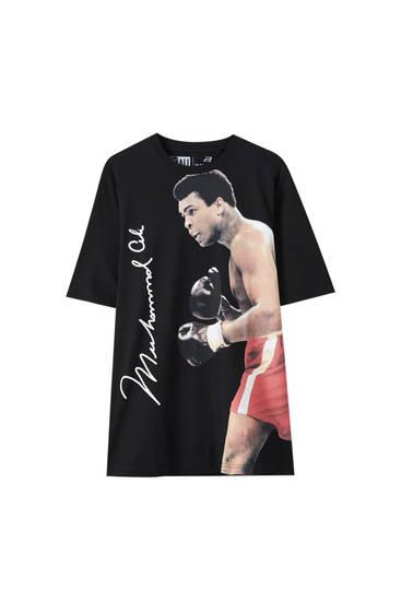 Schwarzes Shirt Muhammad Ali