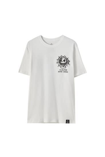 White 'The Nightmare Before Christmas' T-shirt