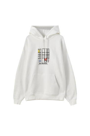 Tate Art Collection Mondrian hoodie